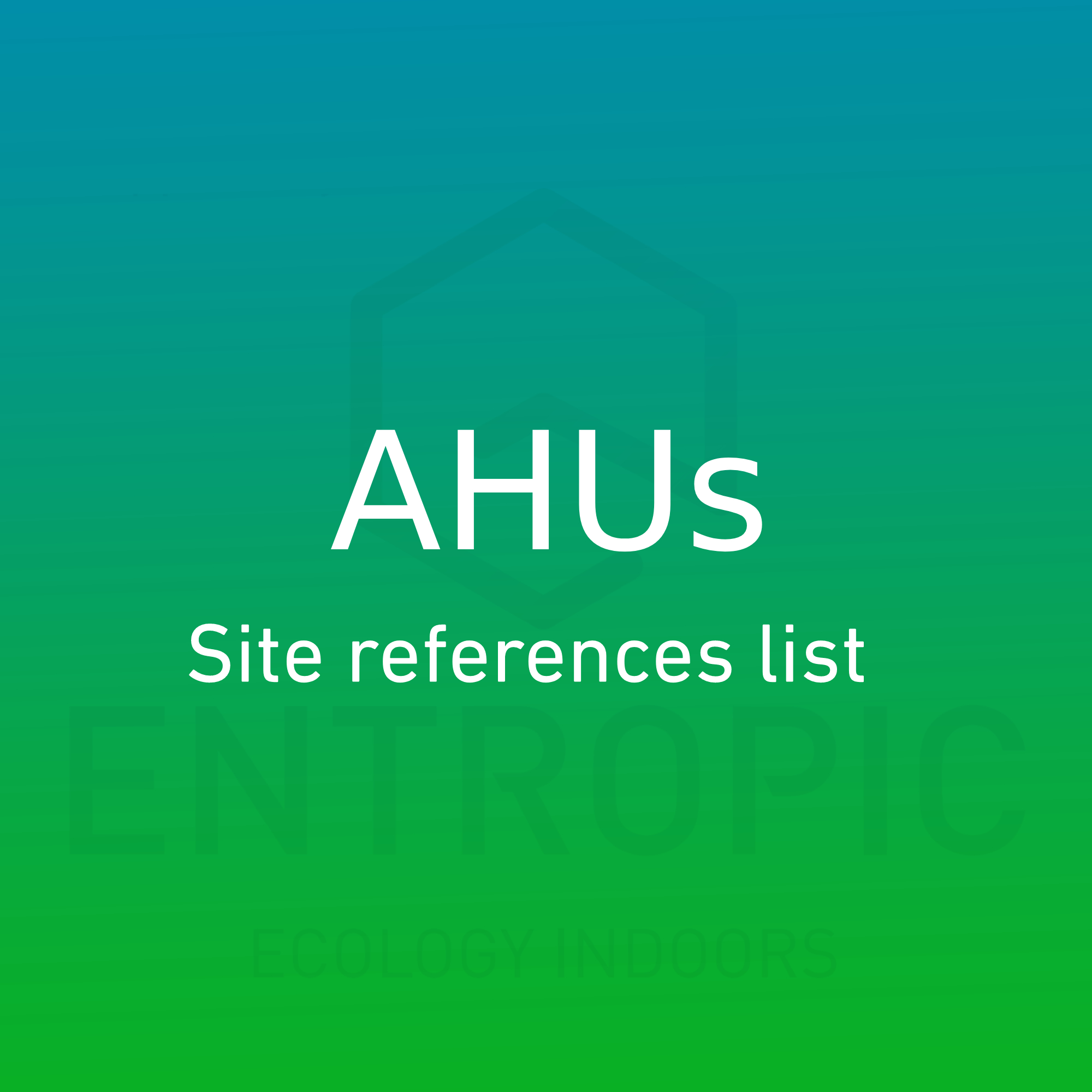 ahus-site-reference-list