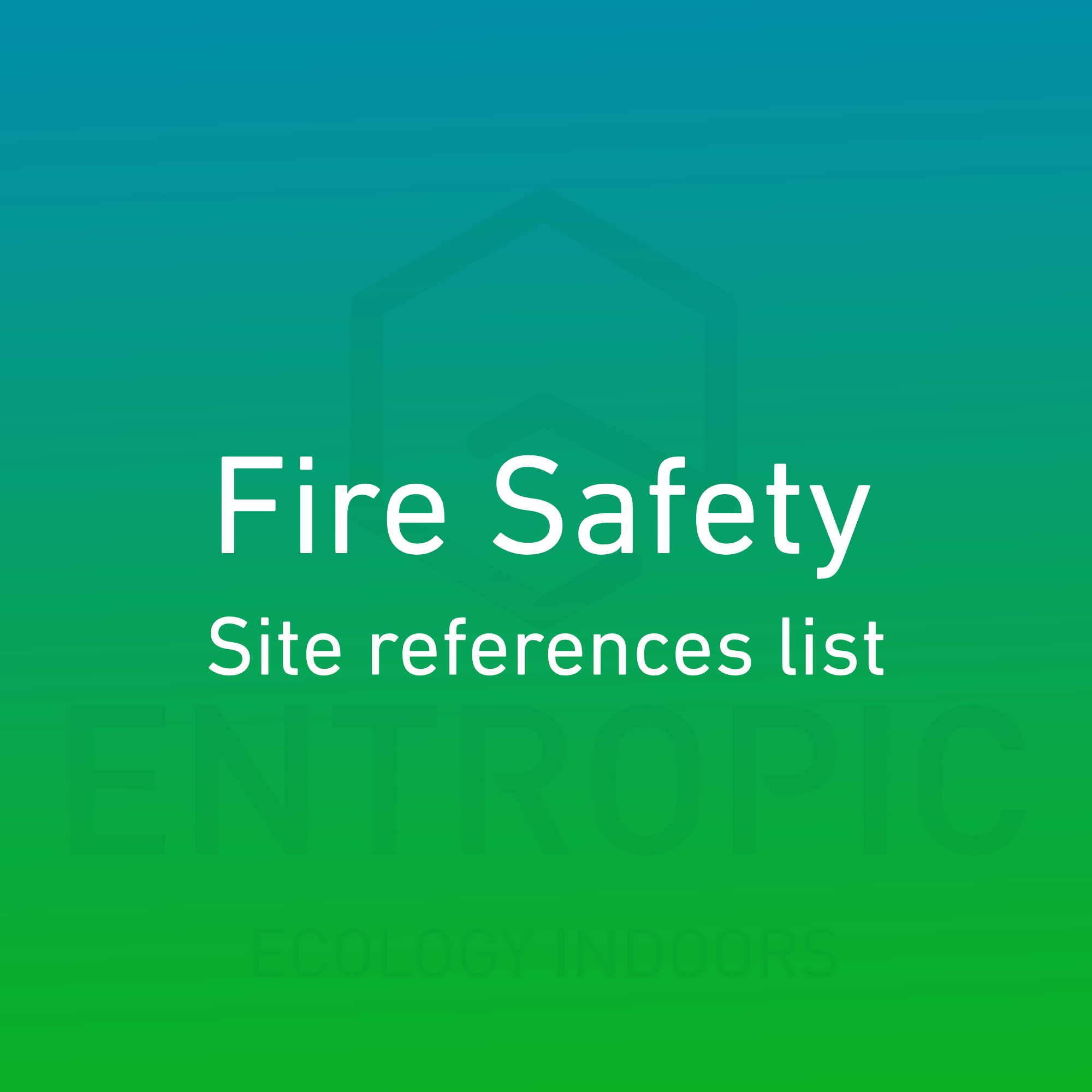 fire-safety-site-reference-list