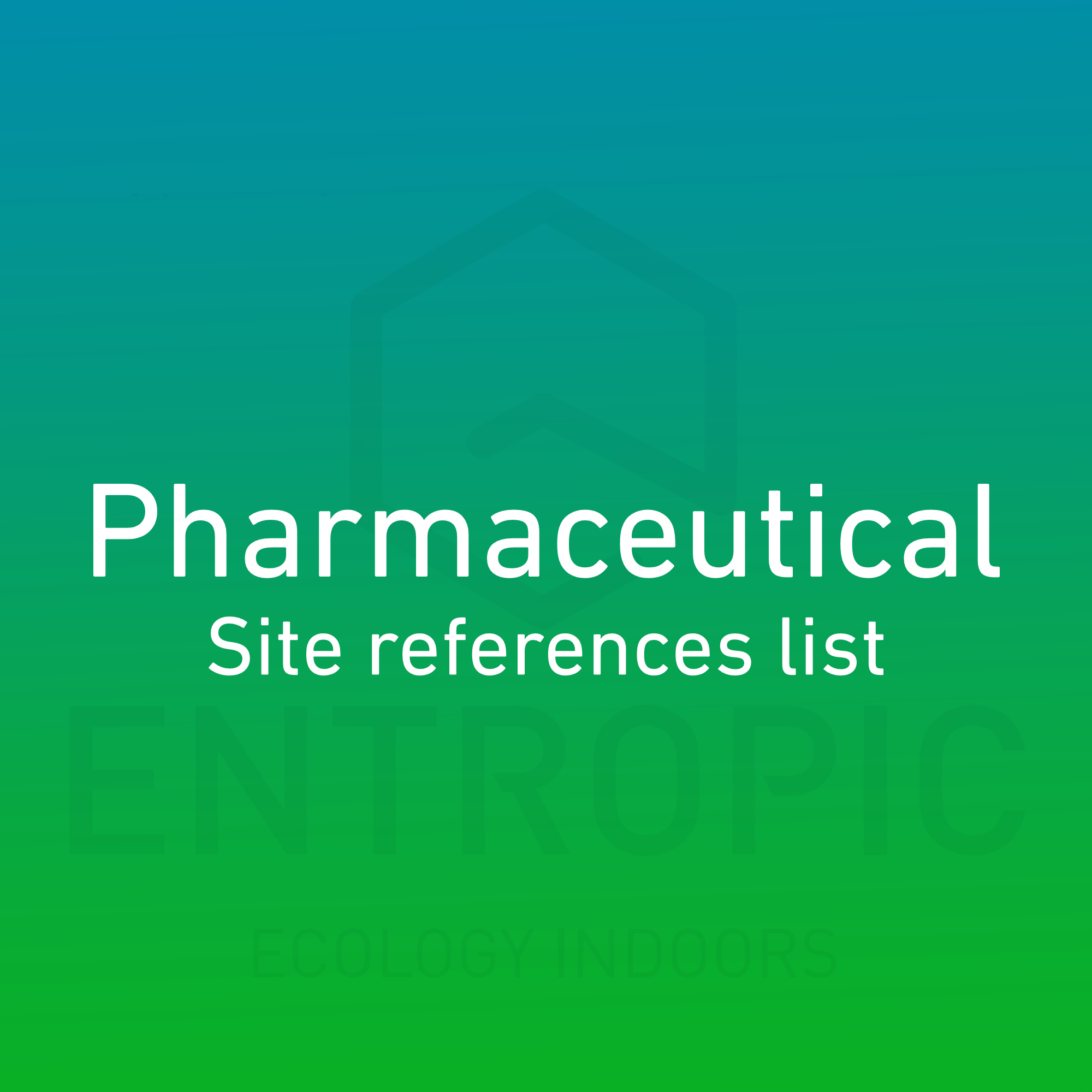 pharmaceutical-site-reference-list