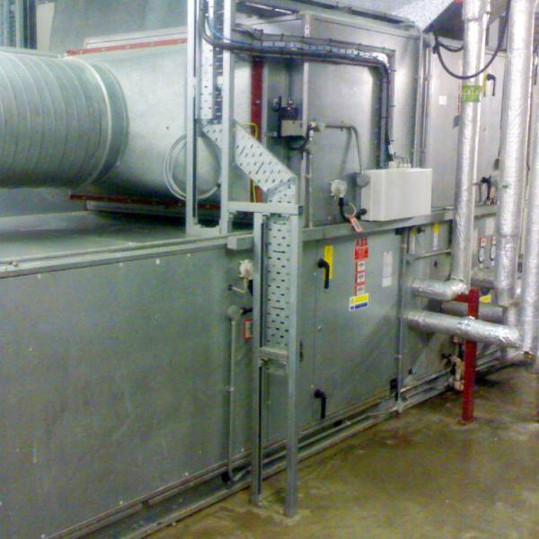 Large heat recovery retrofit - AHU (1)