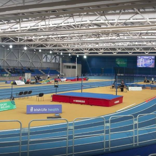 National Indoor Arena - Radiant Panels